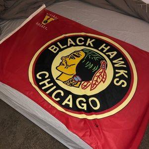 Chicago Black Hawks 3x5 flag